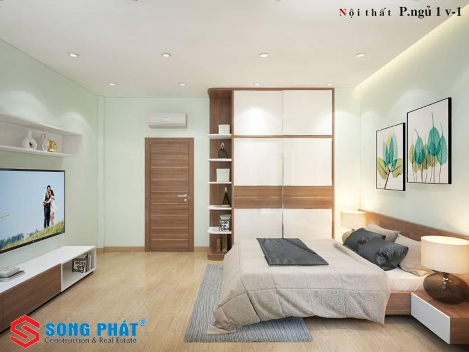 Petites chambres de style  par Công ty TNHH TK XD Song Phát,