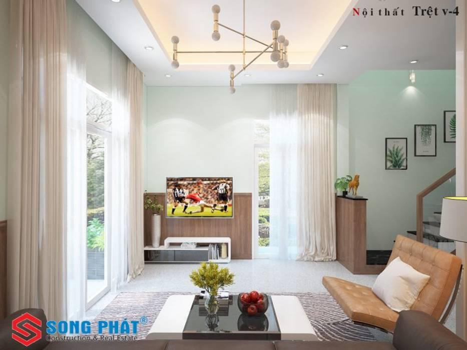 Salon de style  par Công ty TNHH TK XD Song Phát,