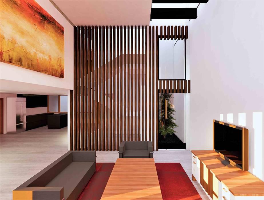 Ruang Keluarga oleh Árbol Arquitectura, Modern