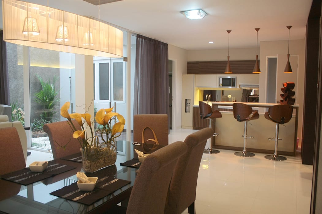 Dining room by Exxo interior