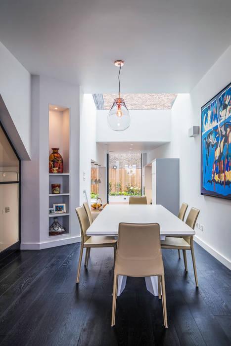 Petersen Brick House Neil Dusheiko Architects Modern dining room