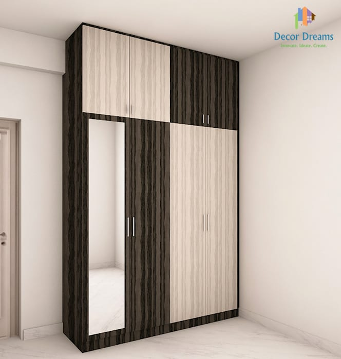 Adarsh Palm Retreat, 3BHK - Mr. Deepak:  Bedroom by DECOR DREAMS