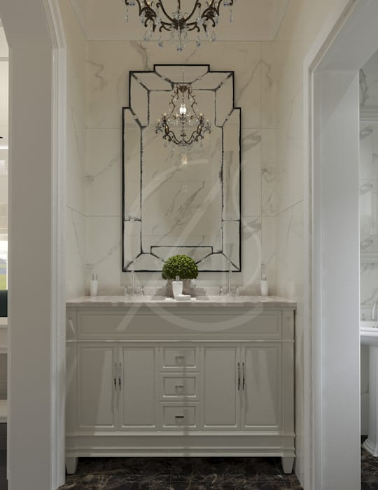 Classic House Interior Design Classic style bathroom by Comelite Architecture, Structure and Interior Design Classic