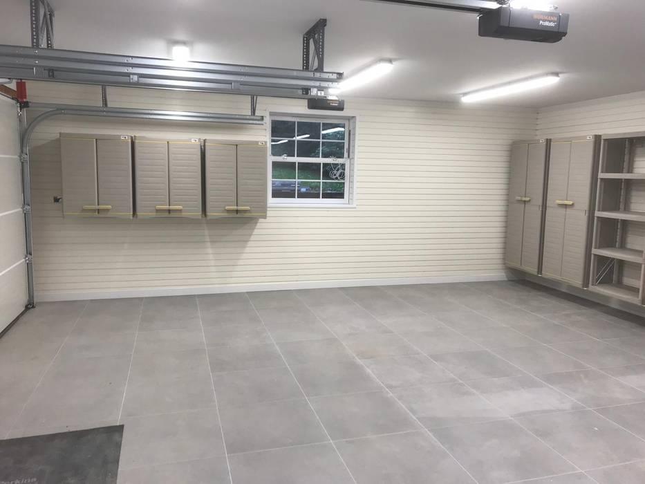 New Build Garage in Surrey transforms with help from Garageflex by Garageflex 모던