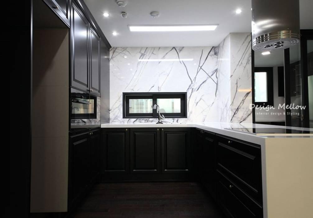 [42PY] 문현동 태영데시앙 아파트인테리어: 스테이 모던 (Stay Modern)의  다이닝 룸