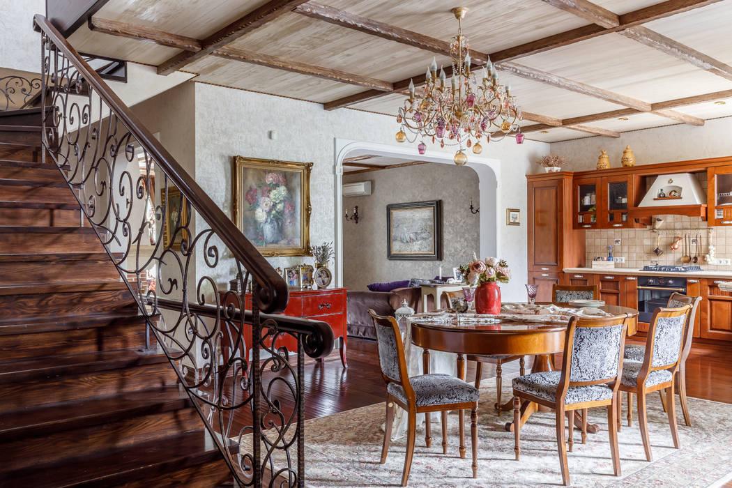 Семейные традиции: Столовые комнаты в . Автор – Студия дизайна Светланы Исаевой