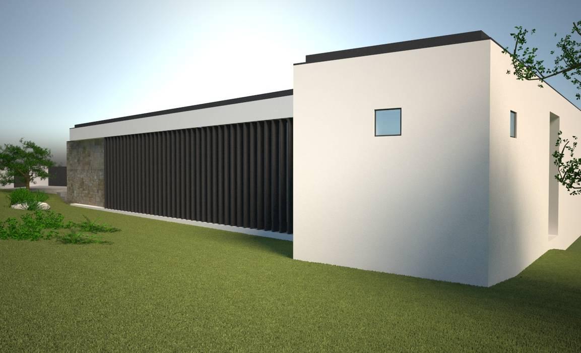 CASA MANIS: Casas unifamilares  por Atelier 72 - Arquitetura, Lda