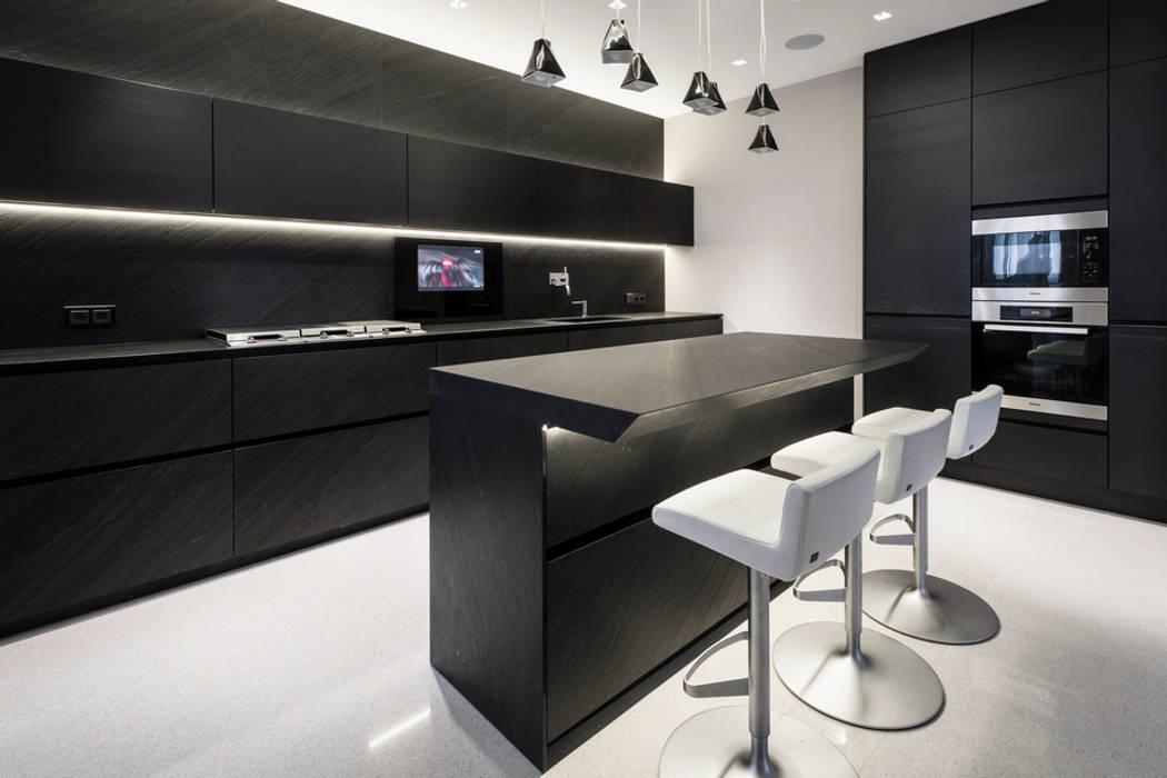 Доминион: Кухни в . Автор – Geometrix Design, Модерн