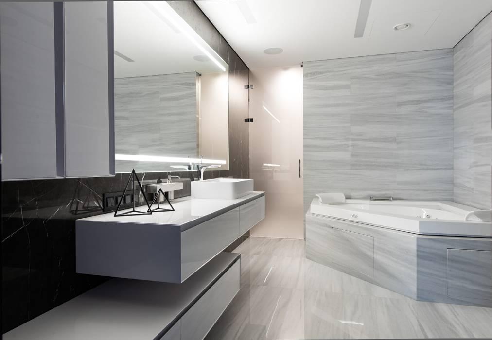 Geometrix Design의  욕실