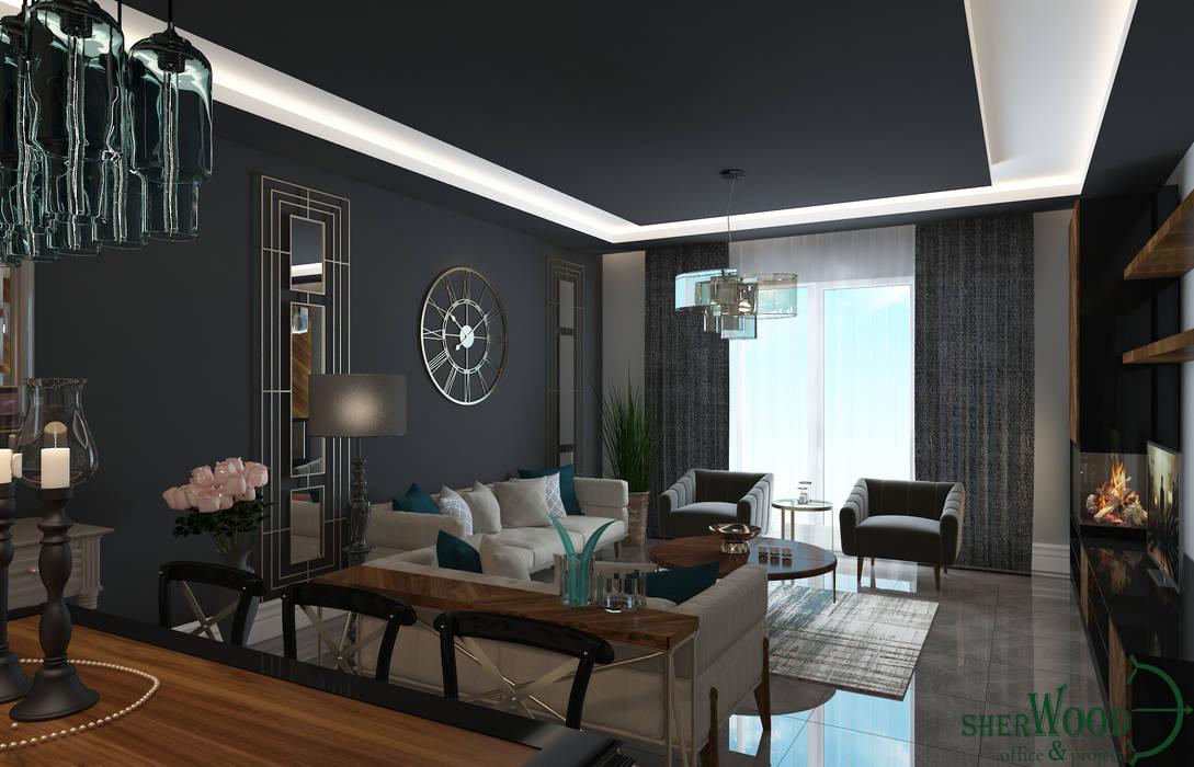 Sherwood Furniture&Project&Design&Office – PROJECTS:  tarz Oturma Odası
