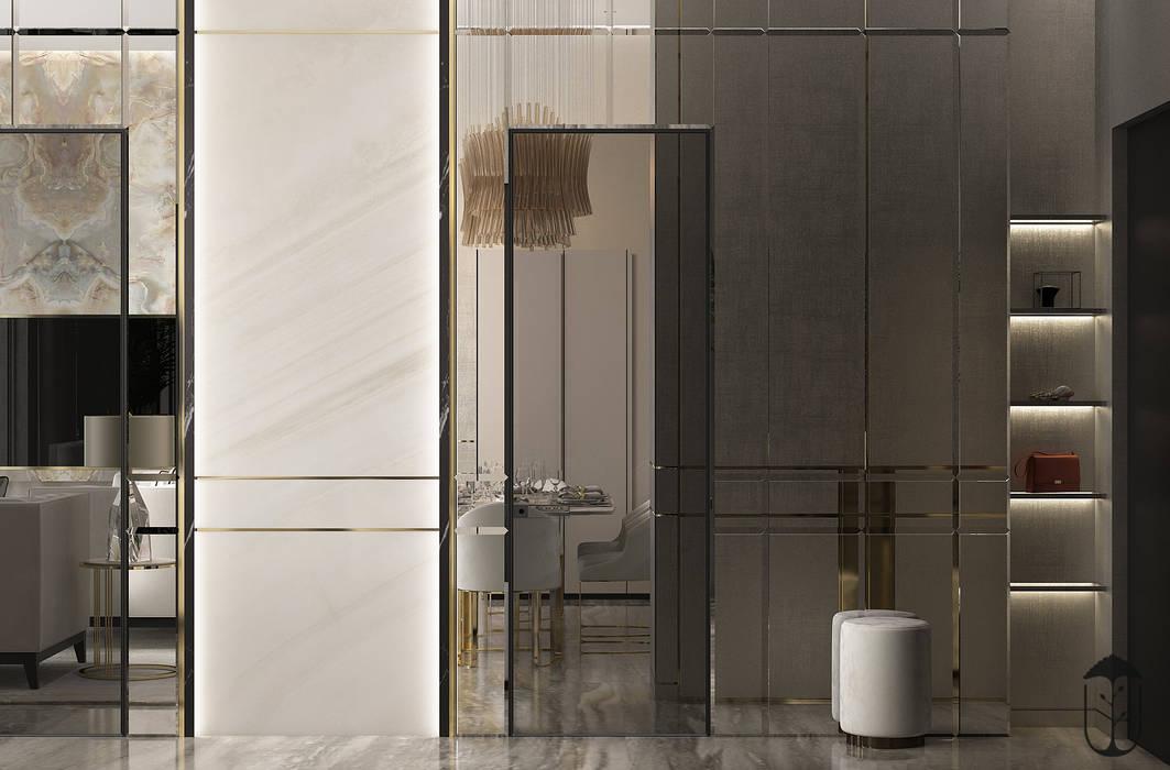 现代客厅設計點子、靈感 & 圖片 根據 U-Style design studio 現代風
