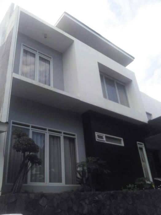 facade daun architect Rumah Modern