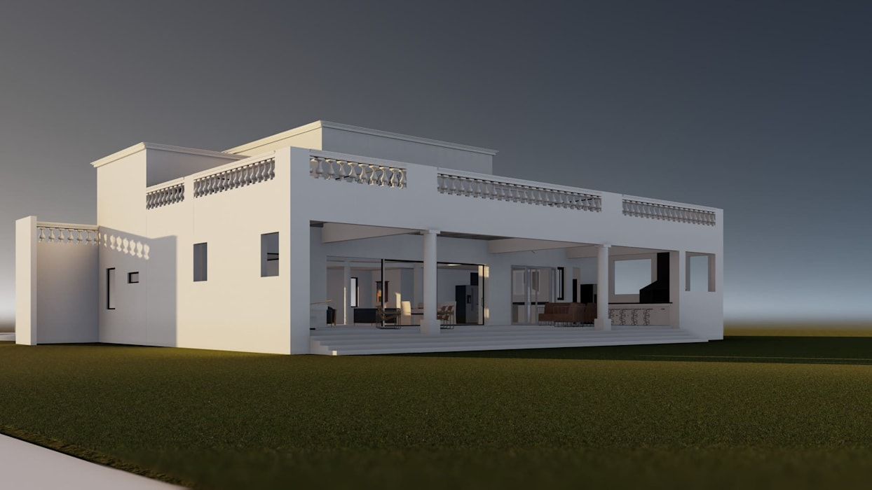 Villas by BIM Urbano, Classic Bricks
