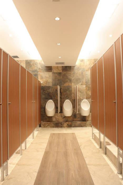 Pasillo de baño iluminación 3: Baños de estilo  por emARTquitectura