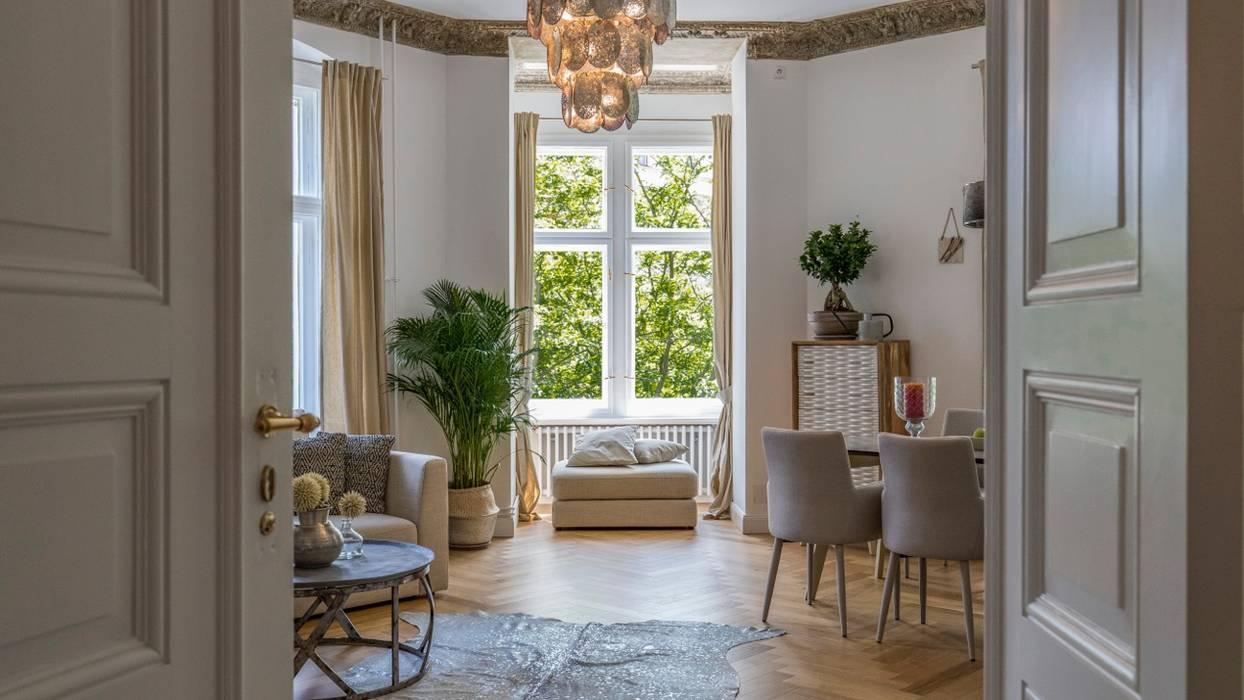 Berliner altbauwohnung stilvoll eingerichtet moderne ...