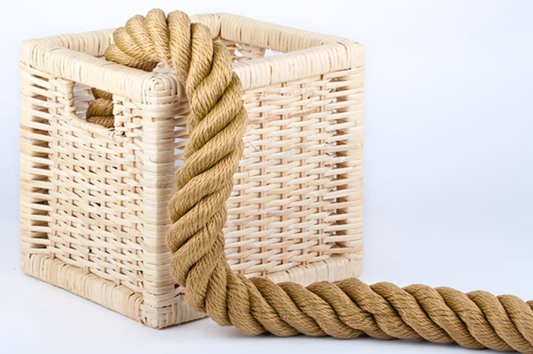 Cordas Decorativas Cordicastro Espaços comerciais rústicos