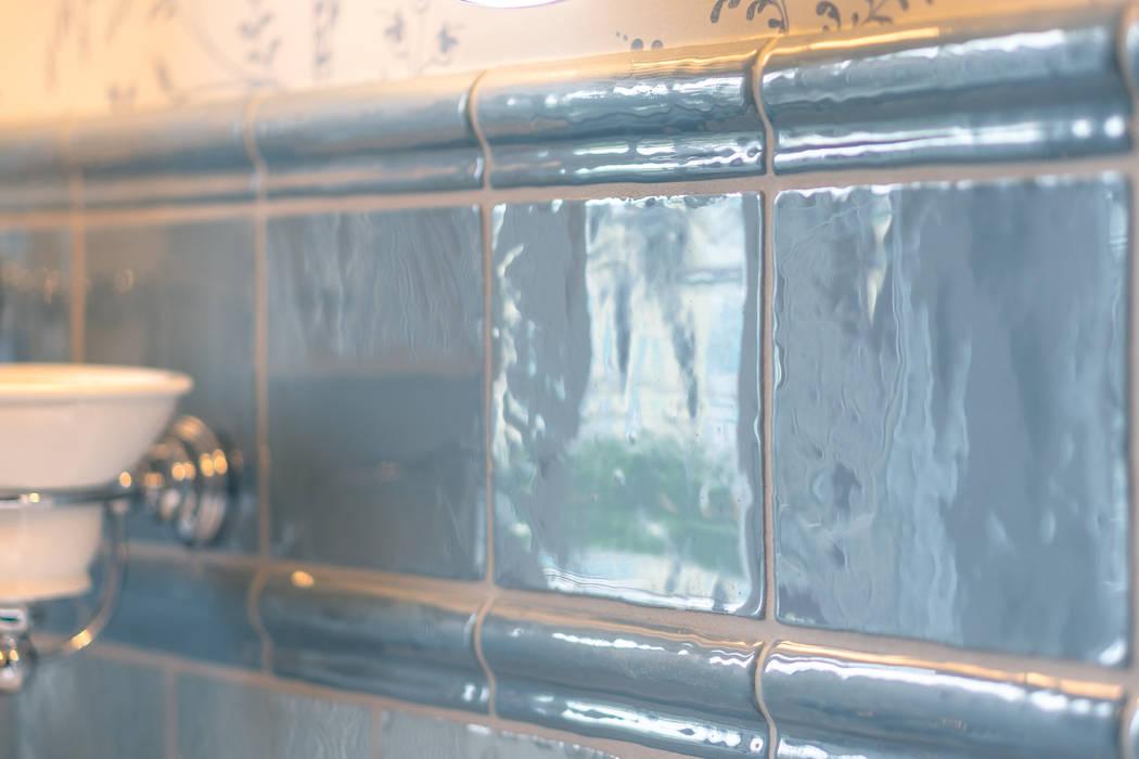 Nostalgische badezimmerfliesen klassische badezimmer von ...