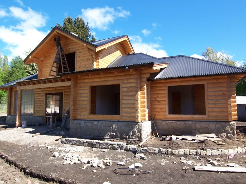 Patagonia Log Homes - Arquitectos - Neuquén Detached home