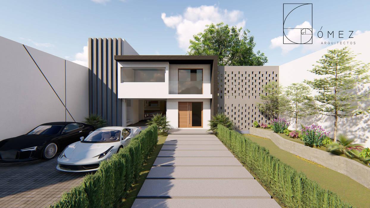 บ้านเดี่ยว โดย GóMEZ arquitectos, โมเดิร์น