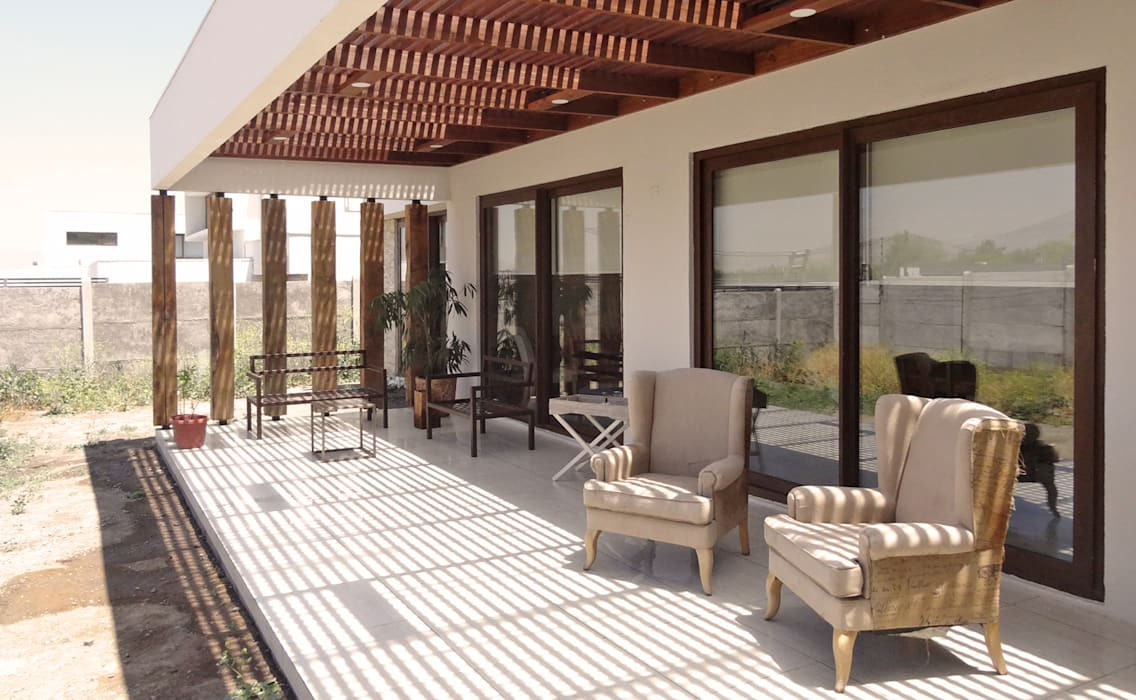 m2 estudio arquitectos - Santiago Flat roof