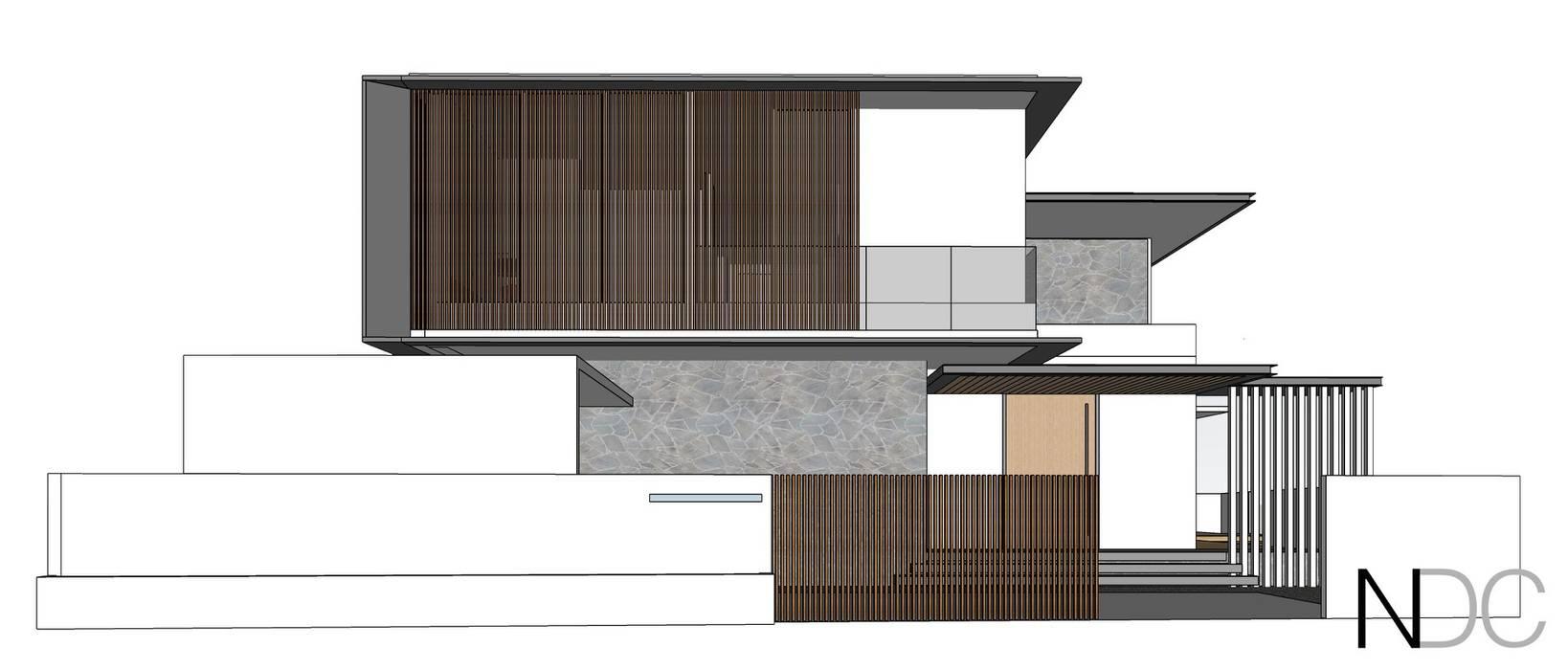 MINES RESORT HOUSE Modern houses by NDC DESIGN Modern