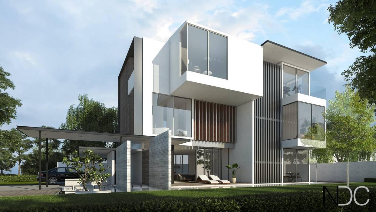 USJ HOUSE Modern houses by NDC DESIGN Modern