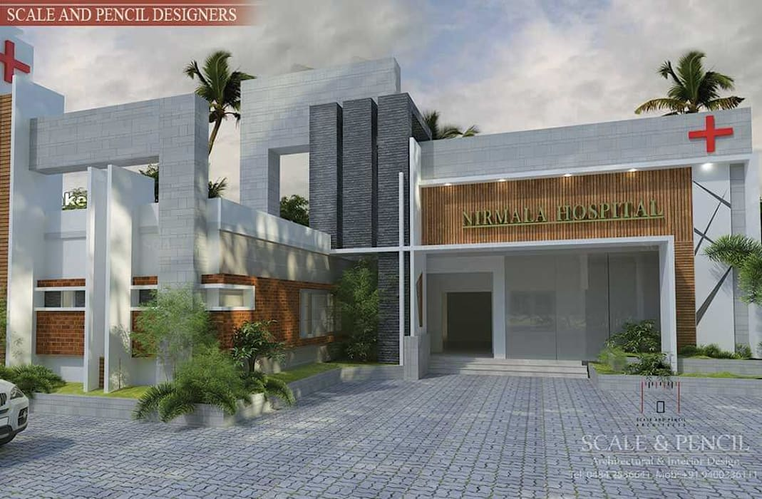 Contemporary Hospital design by Scale And Pencil