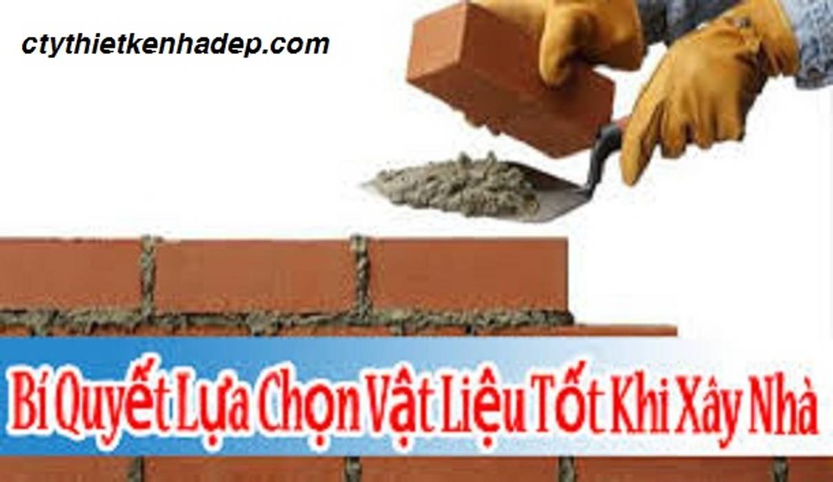 Kinh nghiệm lựa chọn vật liệu xây nhà:  Phòng ngủ by Cong-ty-tnhh-xd-tk-tm-gia-lac