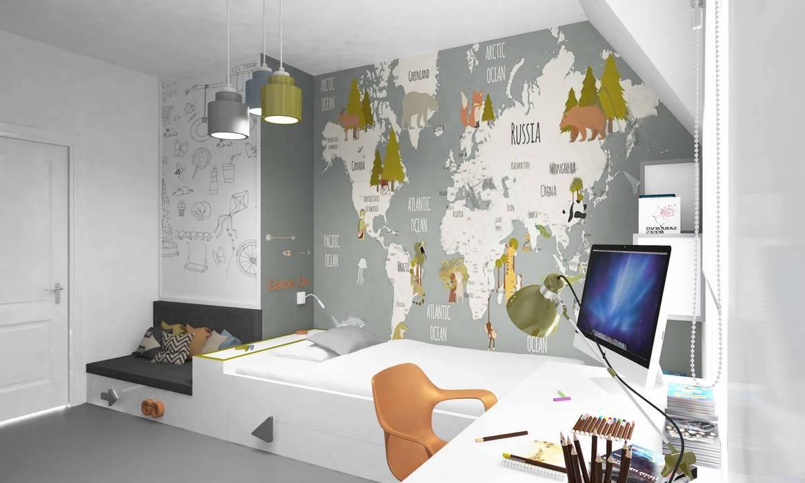 توسط Pebbledesign / Çakıltașları Mimarlık Tasarım مدرن