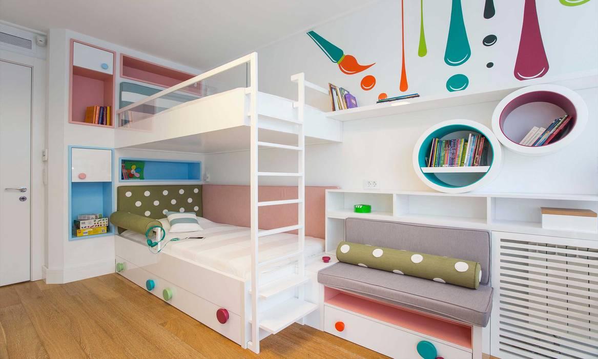 Pebbledesign / Çakıltașları Mimarlık Tasarım Habitaciones de niñas