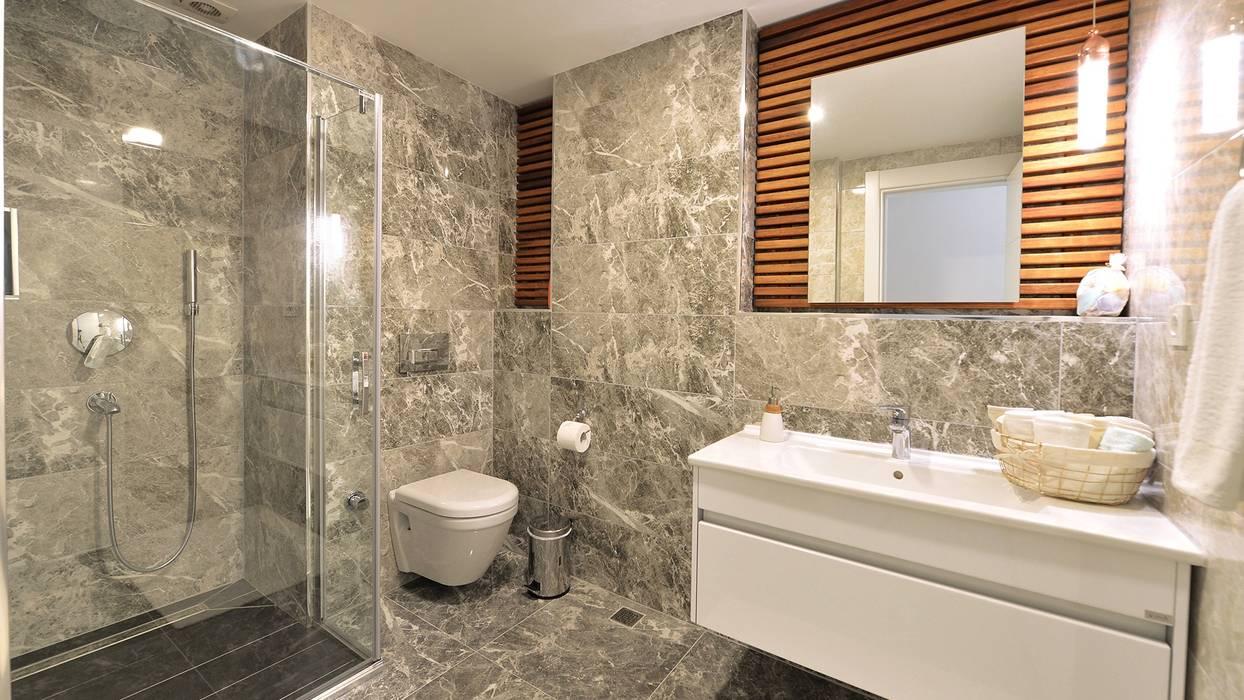 Konseptia Mimarlık Dekorasyon – Banyo Projeleri:  tarz Banyo