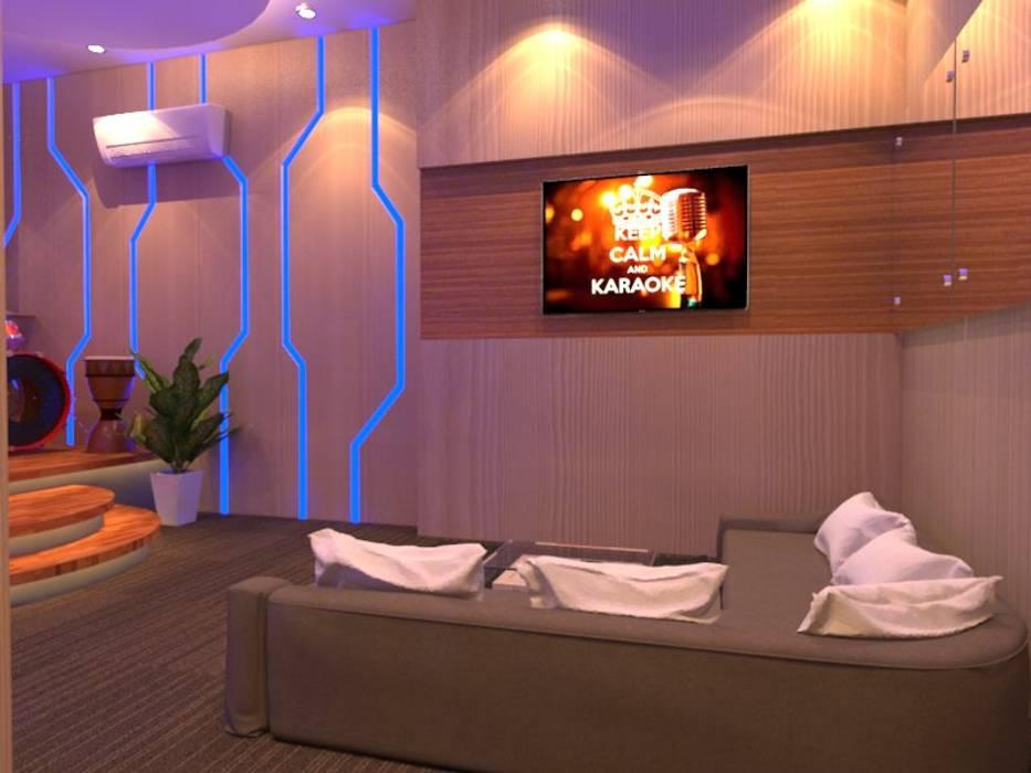 Modern Media Room by Arsitekpedia Modern