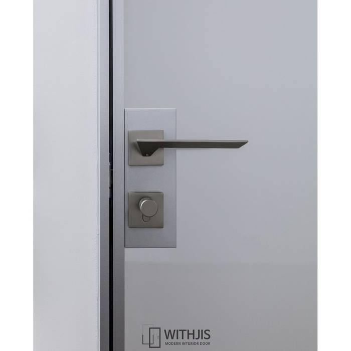 ALU-SW 편개스윙도어 핸들 모던스타일 서재 / 사무실 by WITHJIS(위드지스) 모던 알루미늄 / 아연