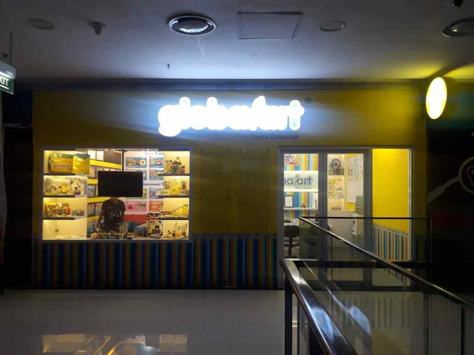 Fit Out Globalart Lotte Mall Bintaro: Pusat Perbelanjaan oleh PT Intinusa Persada,