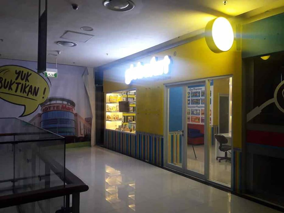 Fit Out Globalart Lotte Mall Bintaro Pusat Perbelanjaan Minimalis Oleh PT Intinusa Persada Minimalis