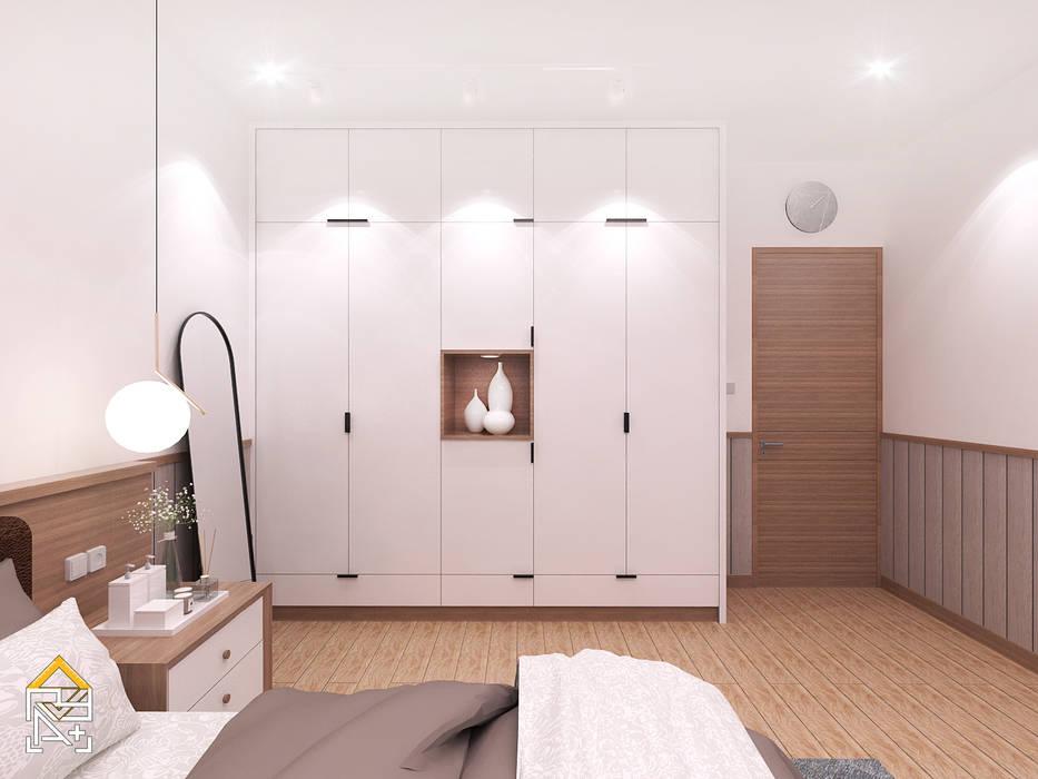 Dormitorios de estilo escandinavo de JRY Atelier Escandinavo Contrachapado