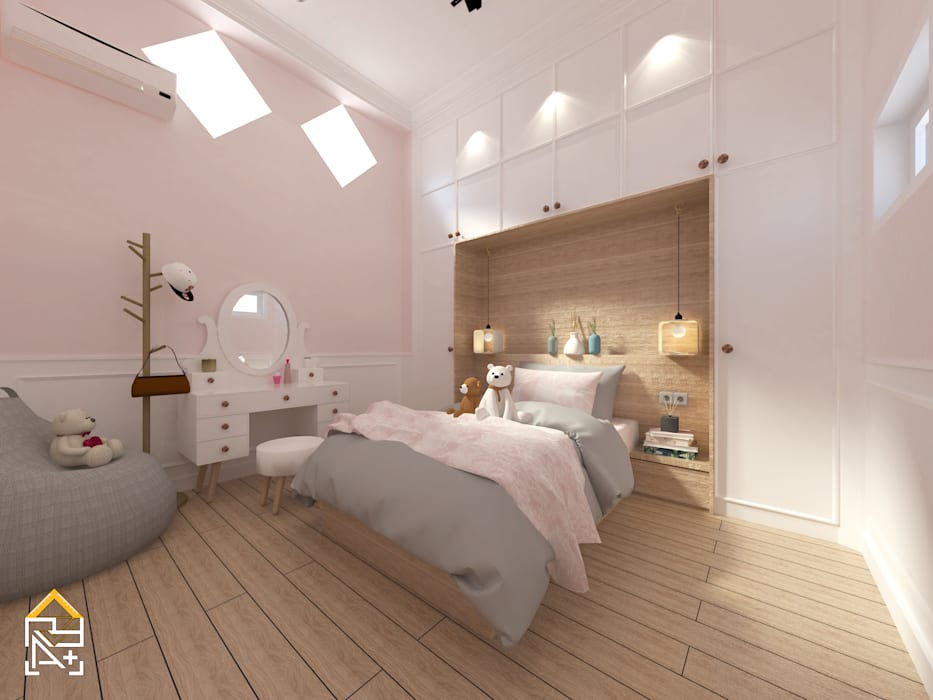 Bedroom with Cabinet Oleh JRY Atelier Modern Kayu Lapis