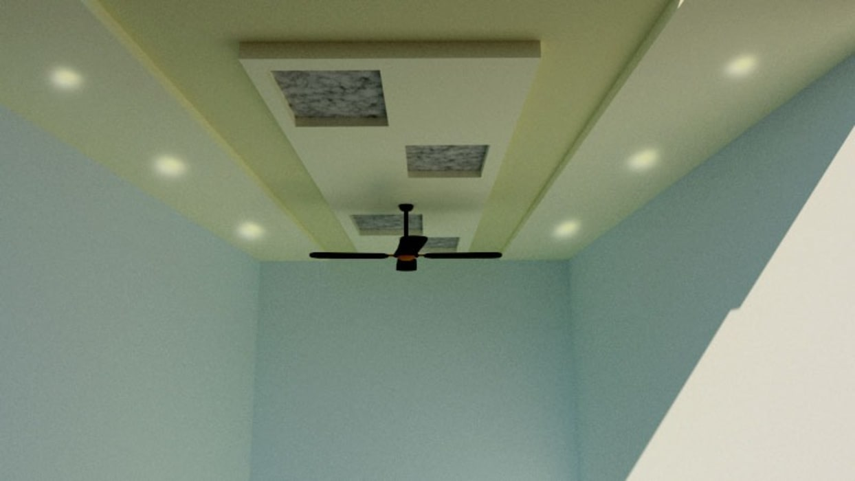 Interiors:  Roof by EVEN SIGHTS ARCHITECTS,Asian