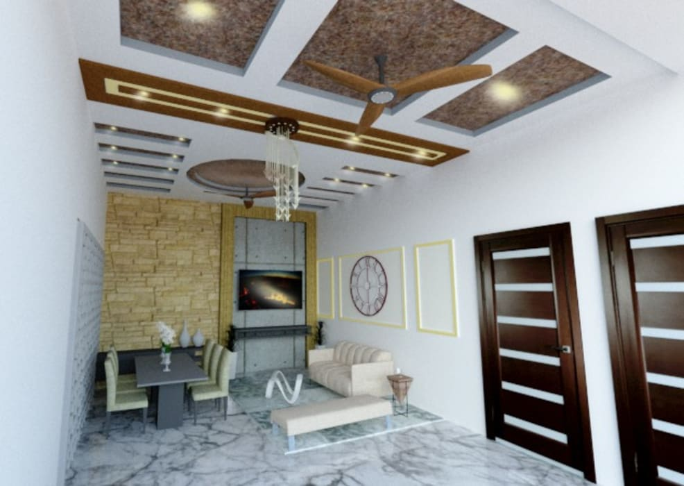Interiors by EVEN SIGHTS ARCHITECTS Asian