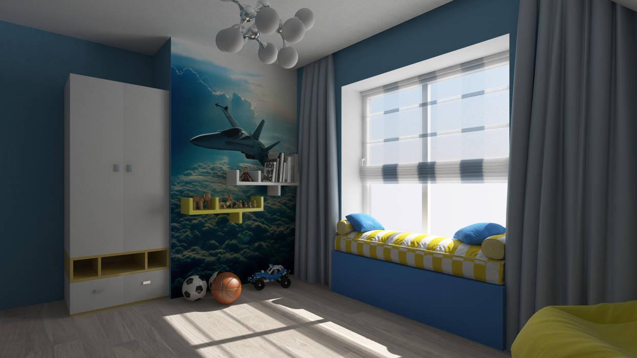 Boys Bedroom by Sensitive Design