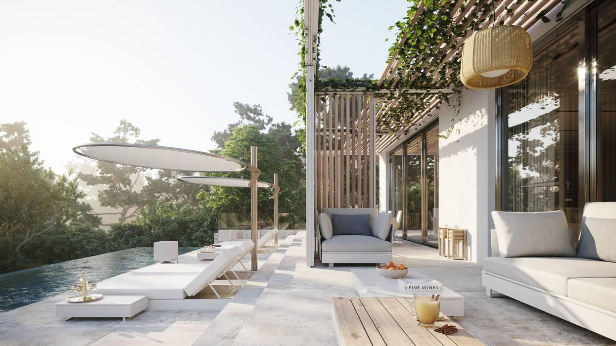 : Terrazas de estilo  por TABARQ