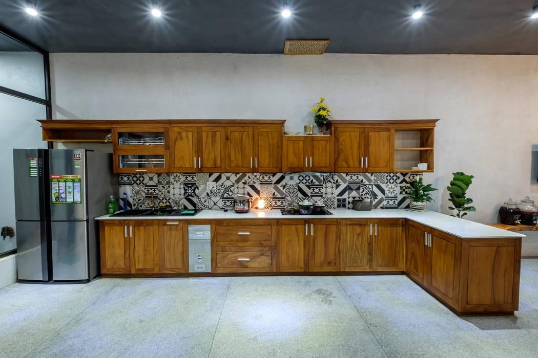PH - House:  Tủ bếp by Mét Vuông,