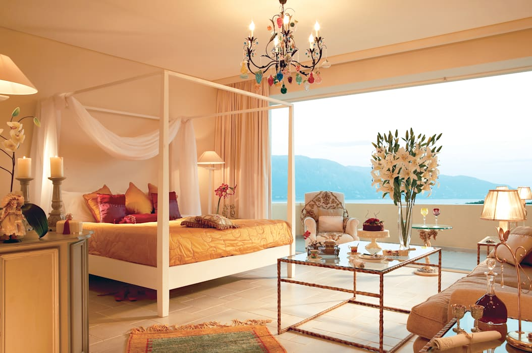 Eclectic style bedroom by siru srl Eclectic