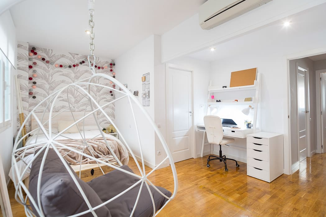 Proyecto Cartagena : Dormitorios de estilo  de Estudi Aura, decoradores y diseñadores de interiores en Barcelona, Moderno