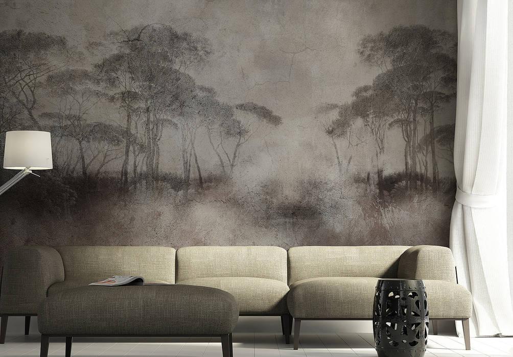 SK Concept Duvar Kağıtları  – Dark Forest :  tarz Duvarlar