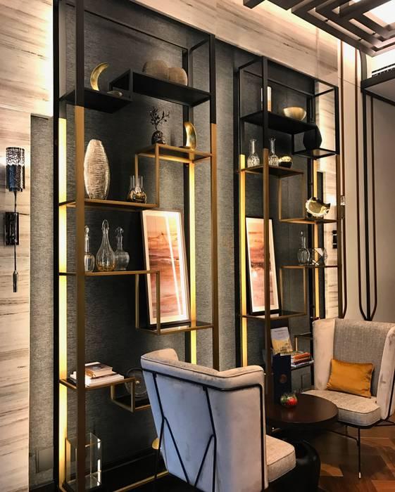 Fairmont Hotel - Loby Duvar Kağıtları Modern Oteller homify Modern