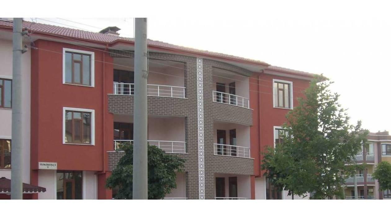 Vip Dekorasyon – Taş Dekorlu Dış Cephe Mantolama:  tarz Apartman