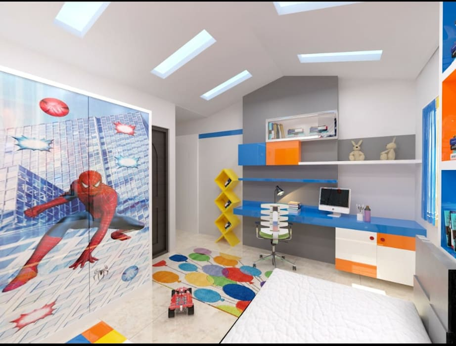 Baby room by Maruthi Interio