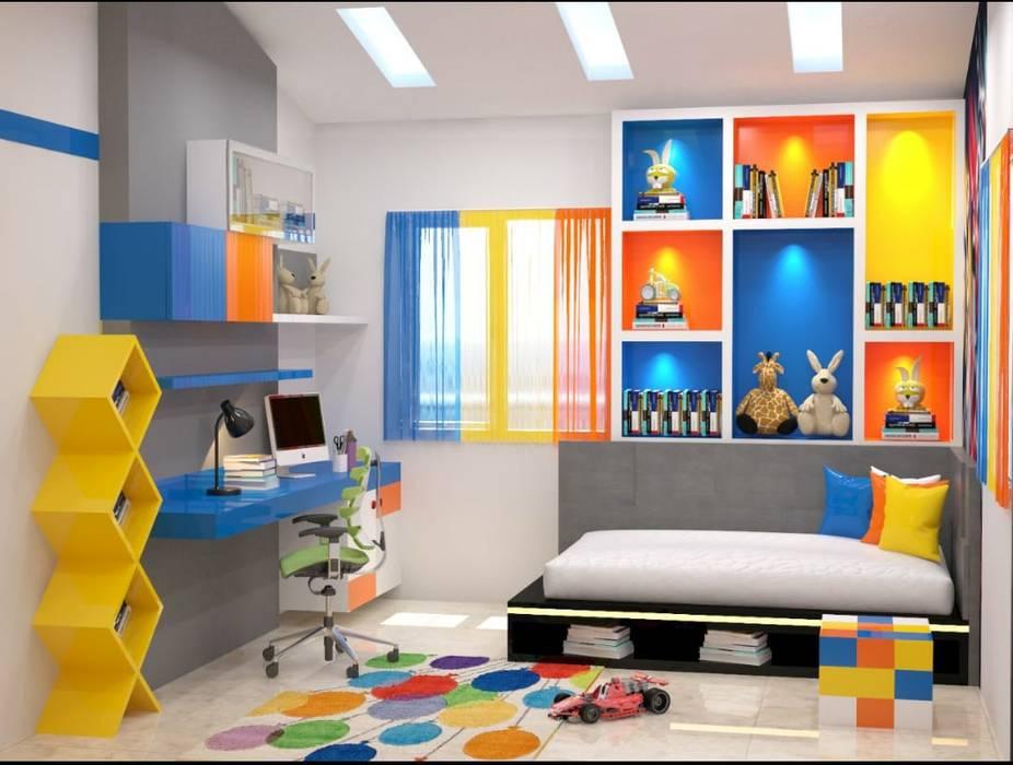 ห้องเด็กอ่อน โดย Maruthi Interio, คลาสสิค