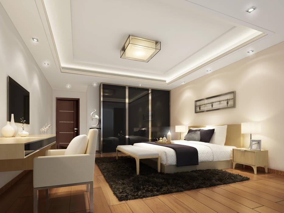 غرفة نوم :  غرفة نوم تنفيذ Luxury Solutions